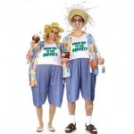 Tacky Traveler Costumes for couples