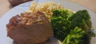 Juicy pork tenderloin in the slow cooker #recipe