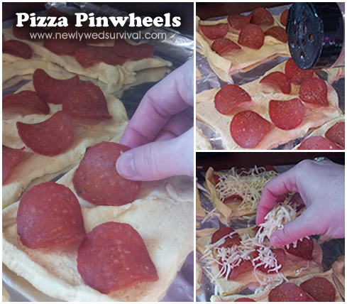Pizza Pinwheels #recipe