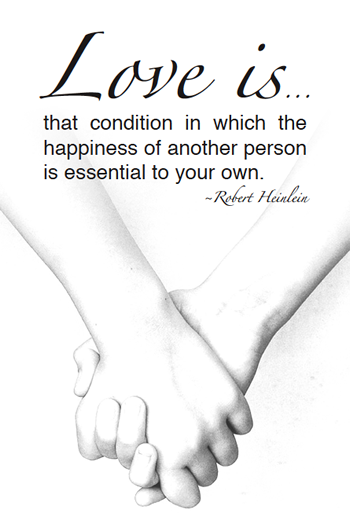 Free Printable Love Quote – Robert Heinlein #printable