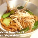 Vegetarian Recipe: Hokkien Noodles & Fresh Vegetables