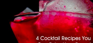 4 Cocktail Recipes You Can Enjoy Year-Round