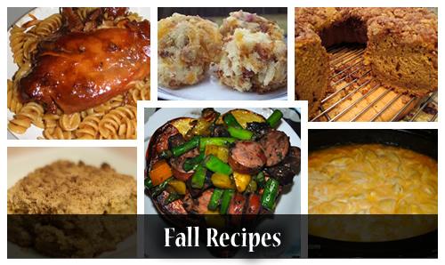 11 Fall recipes
