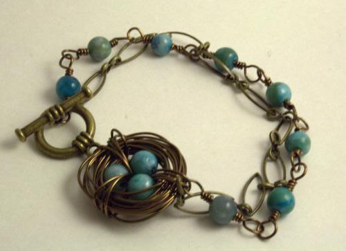 robins nest bracelet