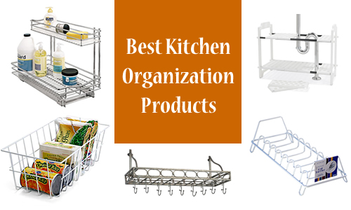 7 Great Kitchen Organizing Products