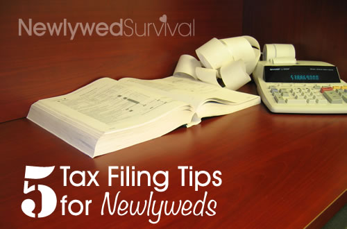 5 Tax filing tips for newlyweds - expert advice
