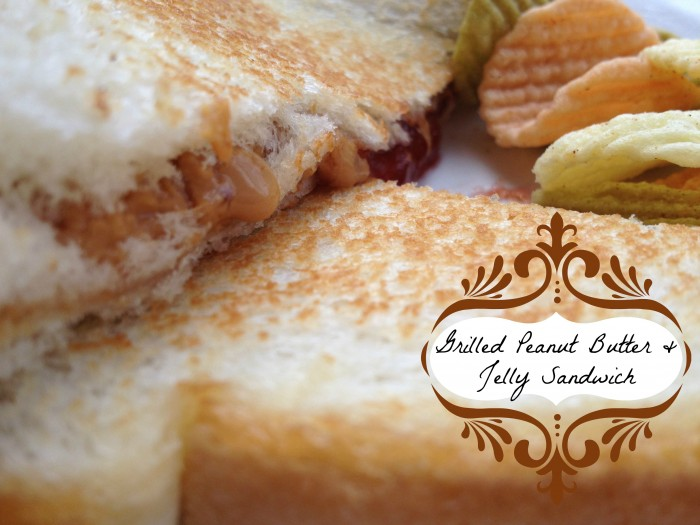 Grilled Peanut Butter and Jelly Sandwich from Roasted Beanz