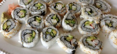 Sushi - California Rolls at home