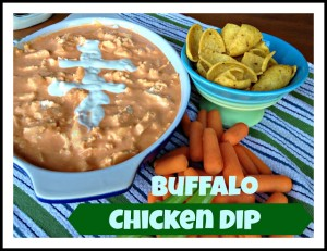 Buffalo Chicken Dip aka Man Dip