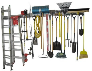 8-foot garage organizer