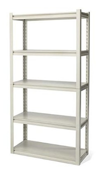 industrial garage shelving #organization