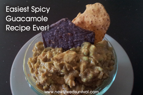 Easiest Spicy Guacamole Recipe Ever!