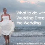 Ideas for your wedding dress after the big day!