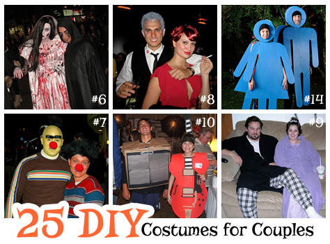 Get some Halloween inspiration with these 25 DIY costumes for couples