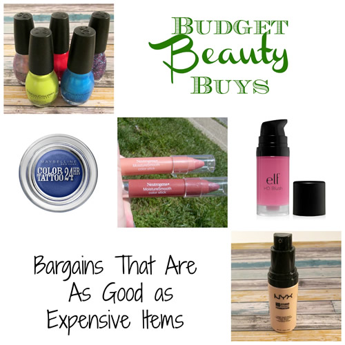 Budget beauty buys - save but don't scrimp on quality!