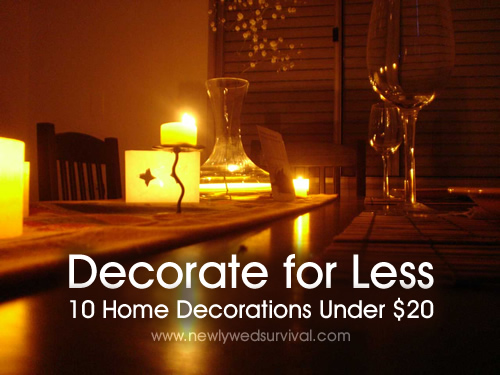 decorate for less 10 home decorations under 20