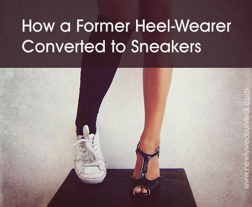 The tale of a former heel-wearer and her journey to wearing sneakers