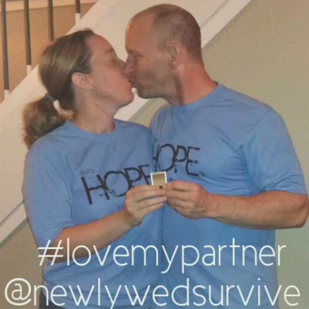 Day 2 of the #lovemypartner phot-a-day challenge