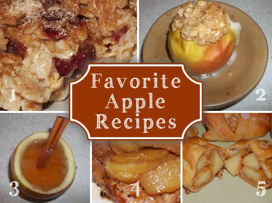 Favorite apple recipes