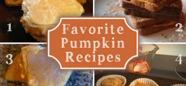Favorite Fall Food Recipes with Apples and Pumpkin