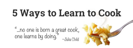 how i learned to cook How i learned to cook i want to tell how i began to learn cooking, and how i succeeded in this when i was a child, approximately eight, i wanted to make a present for my mother she was working hard and came back home late.