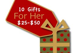 Gifts for Her $25 to $50