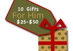 Gifts for Him $25 to $50
