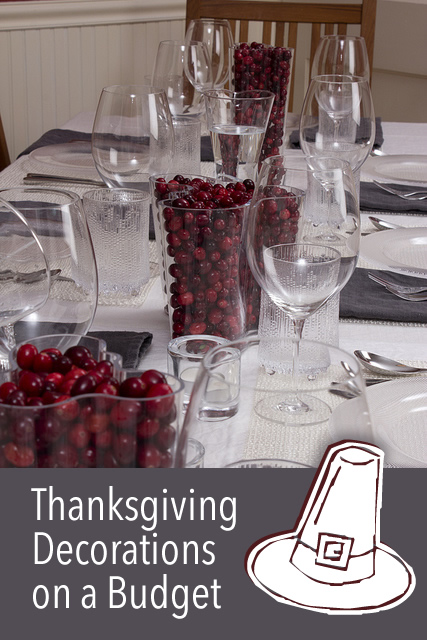 Thanksgiving Decorations On A Budget Newlywed Survival