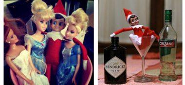 Elf on the Shelf Gone Wild?