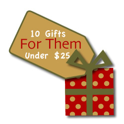 10 gift ideas for the newlywed couple in your life! Each under $25!