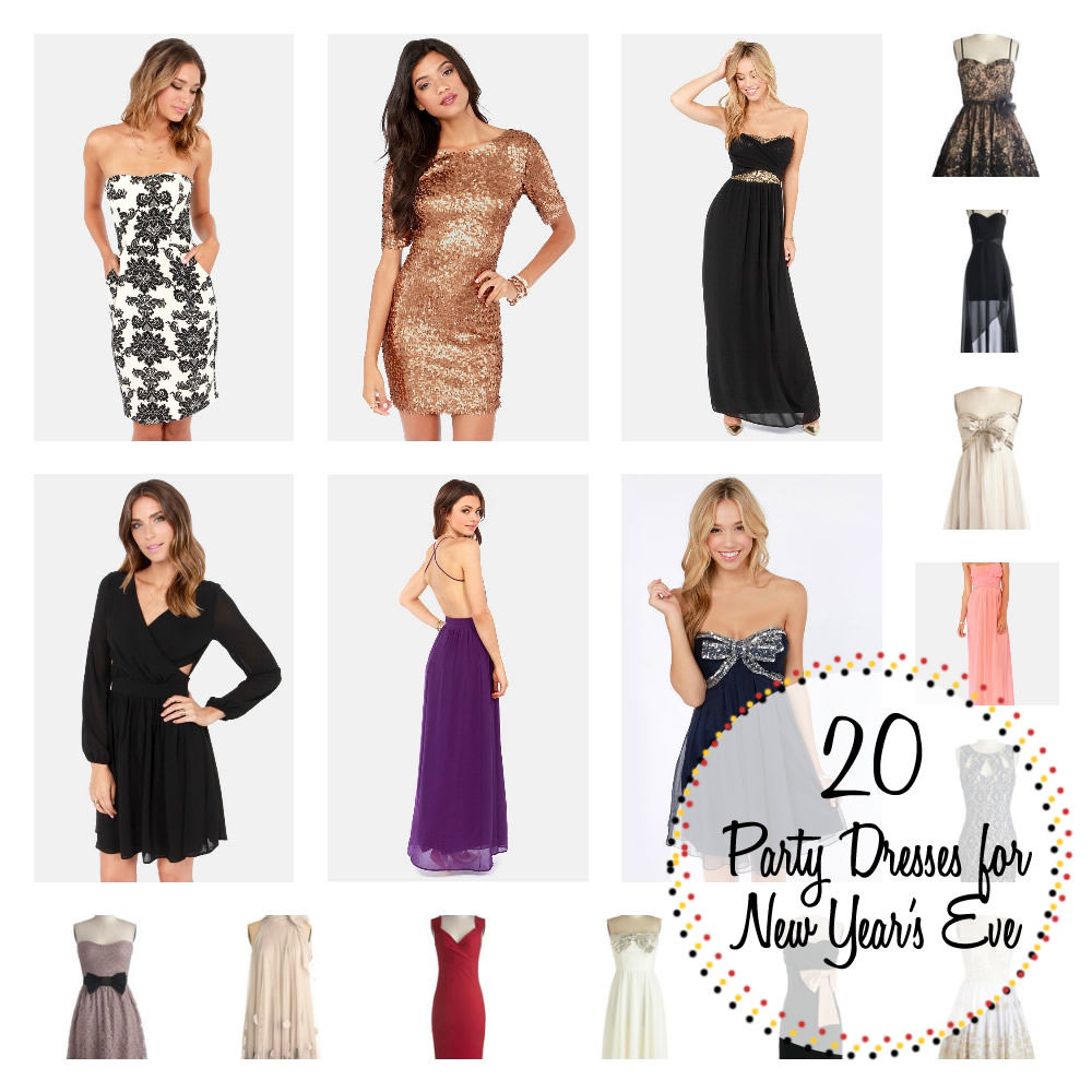 20 fun dresses for your New Year's Eve celebration this year! Each under $100!