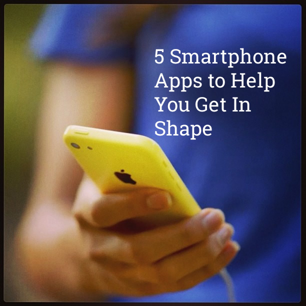 Keep your New Year's resolution to get in shape with these 5 smartphone apps!