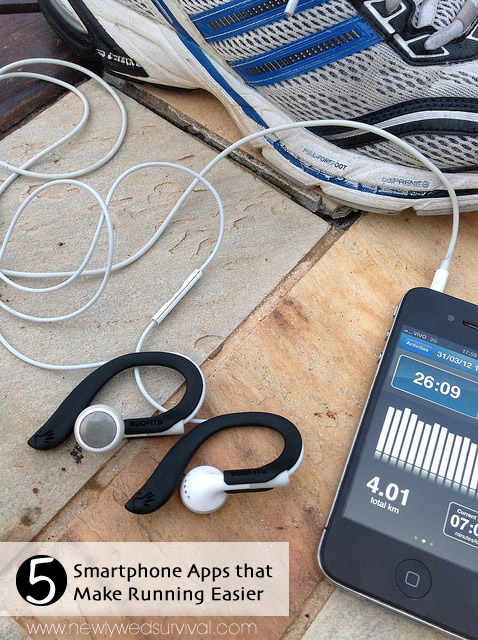 These 5 smartphone apps help make getting fit simple and fun.