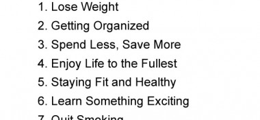 Did you make any of these New Year's resolutions? How likely are you to keep them?