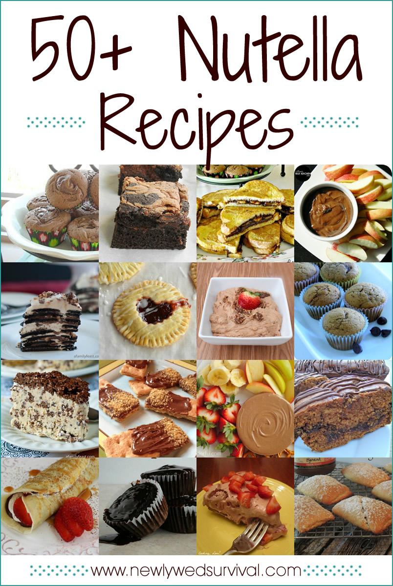 50+ Recipes Using Nutella - Celebrate World Nutella Day