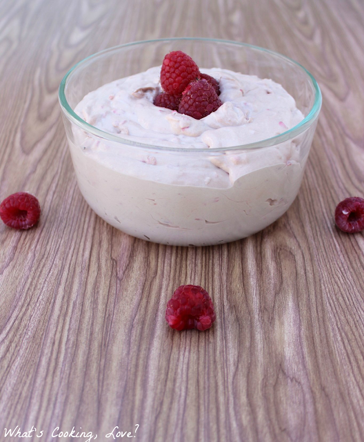 Nutella Raspberry Dip | What's Cooking, Love?