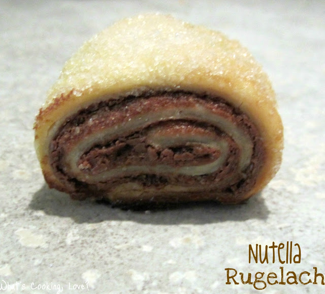 Nutella Rugelach | What's Cooking, Love?
