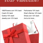 Save up to 50% on a gift for your sweetie with these cash back offers!