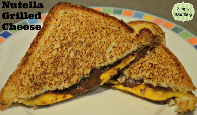 Nutella Grilled Cheese | Simply {Darr}ling