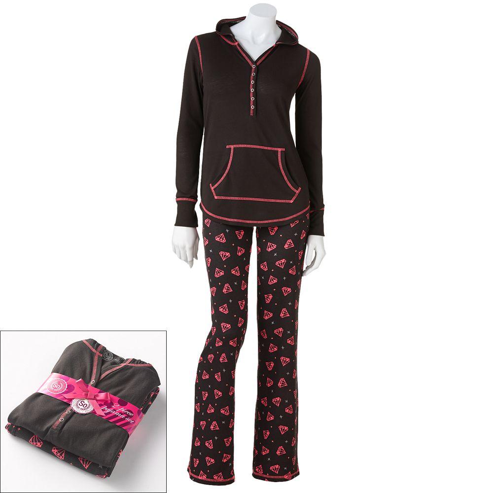 Waffle-Knit Pajama Gift Set #LoveKohls #MC