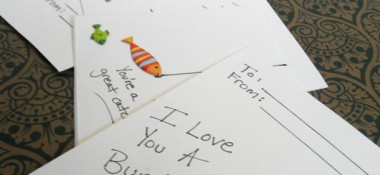 Kid Craft: Scrapbook Sticker Valentines
