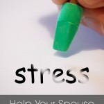 How to help your spouse with stress at work