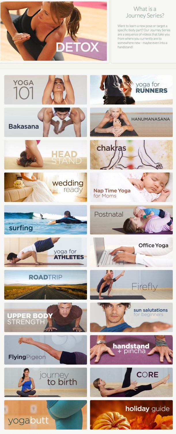 MyYogaWorks has so many Journey Series to choose from! Which would you choose? #MC