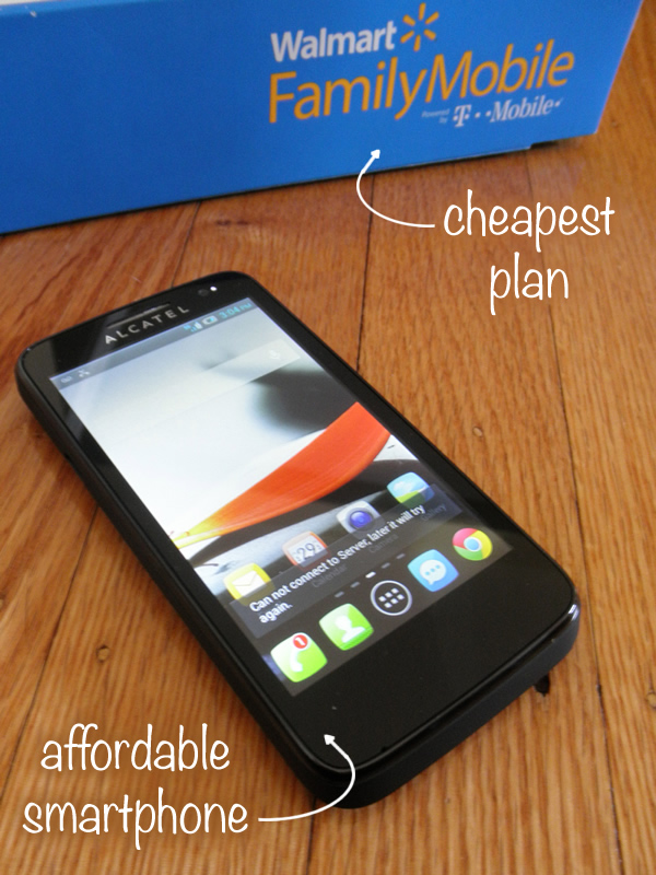 It turns out that the Walmart Family Mobile plan is the cheapest wireless plan! #FamilyMobile #shop