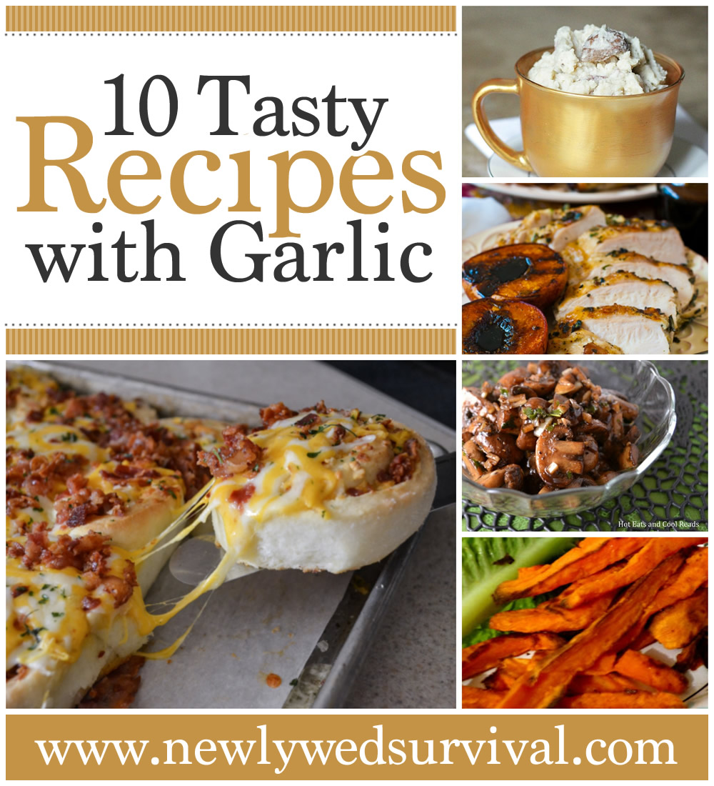 Celebrate National Garlic Day with one of these tasty recipes using garlic