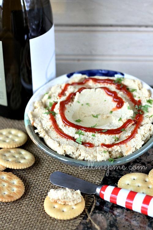 Simple Garlic Hummus | Call Me PMc