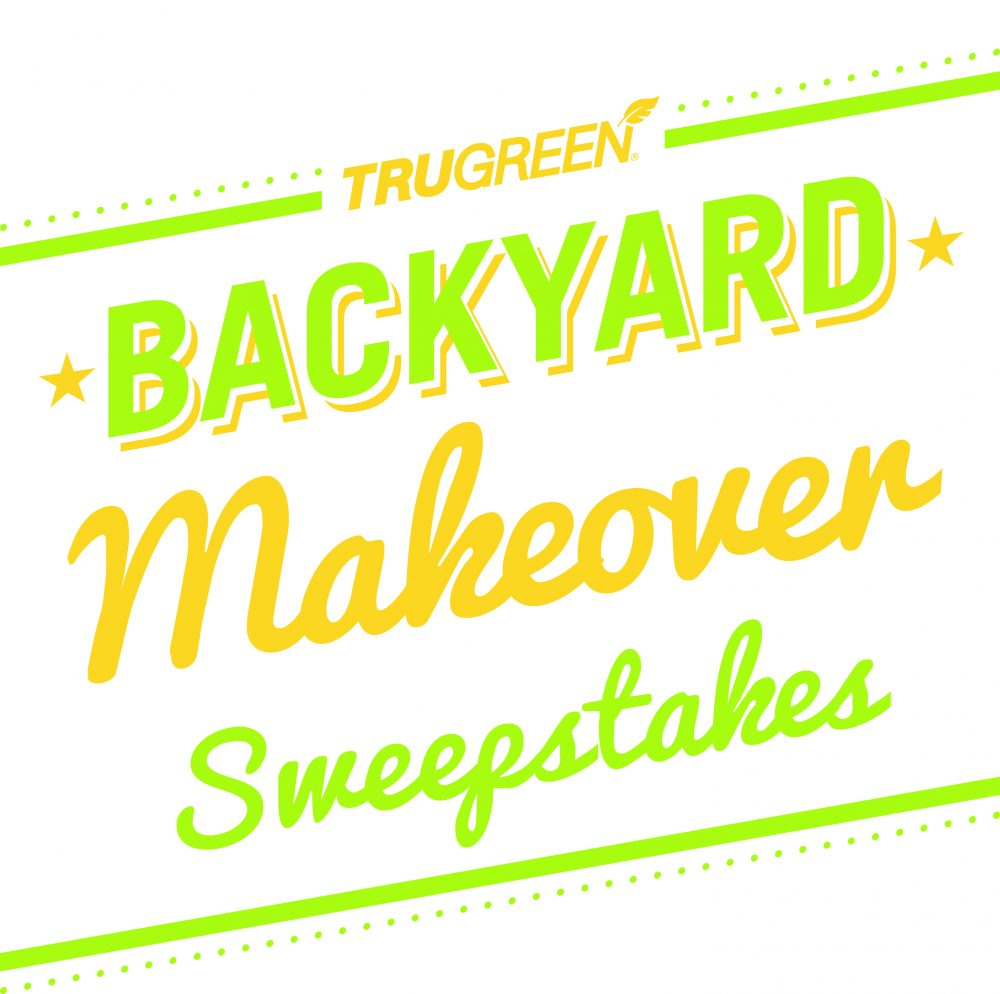 TruGreen Backyard Makeover Sweepstakes #TruGreen #sponsosred #MC