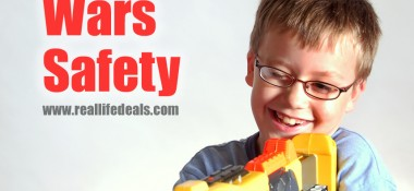 Safety Glasses for Nerf Gun Wars