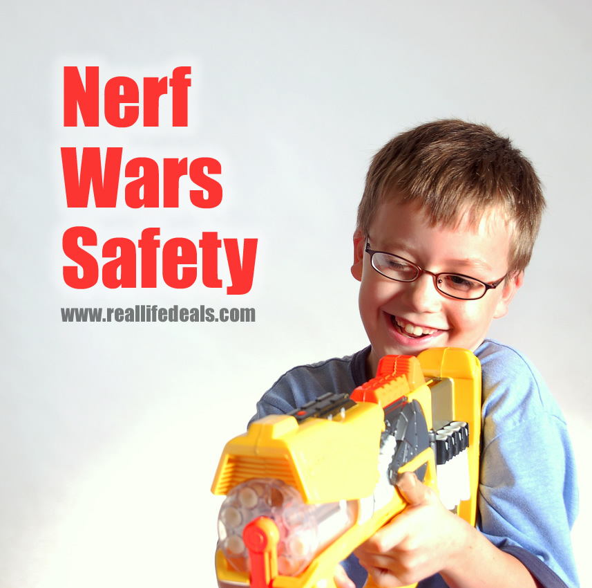 Nerf Wars Safety for Kids