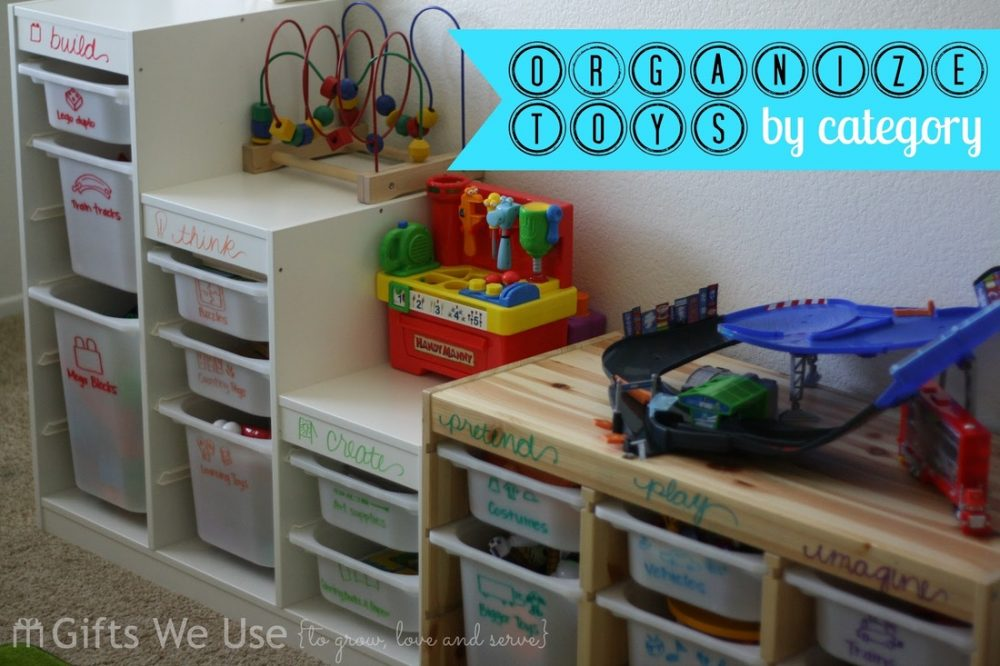 Tips on Organizing Toys | Pink When